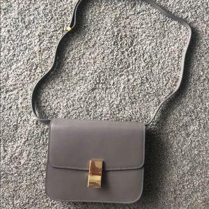 Handbags - Grey leather crossbody